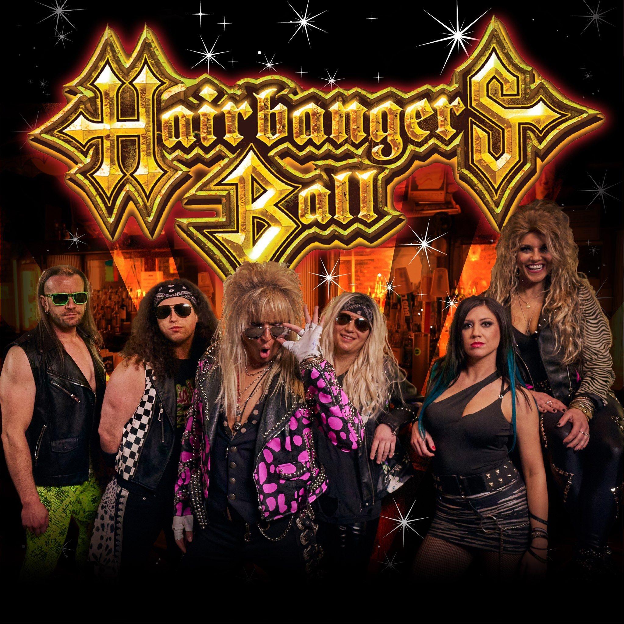 Hairbanger's Ball show poster
