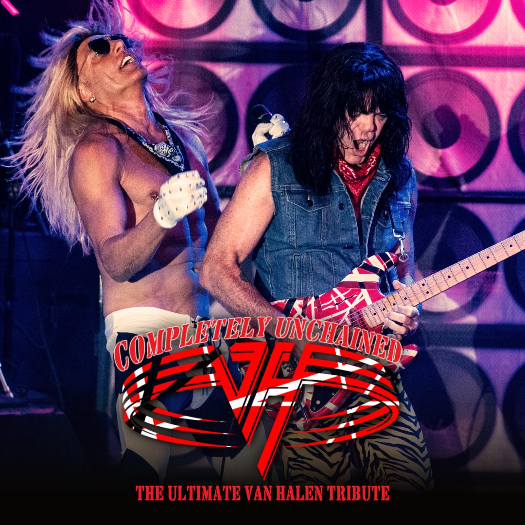 Van Halen Tribute - Completely Unchained show poster