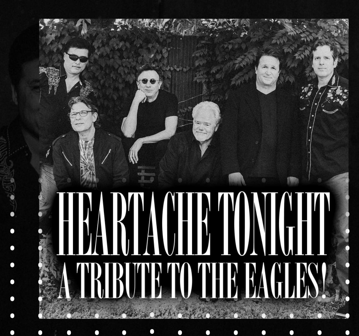 Eagles Tribute - Heartache Tonight show poster