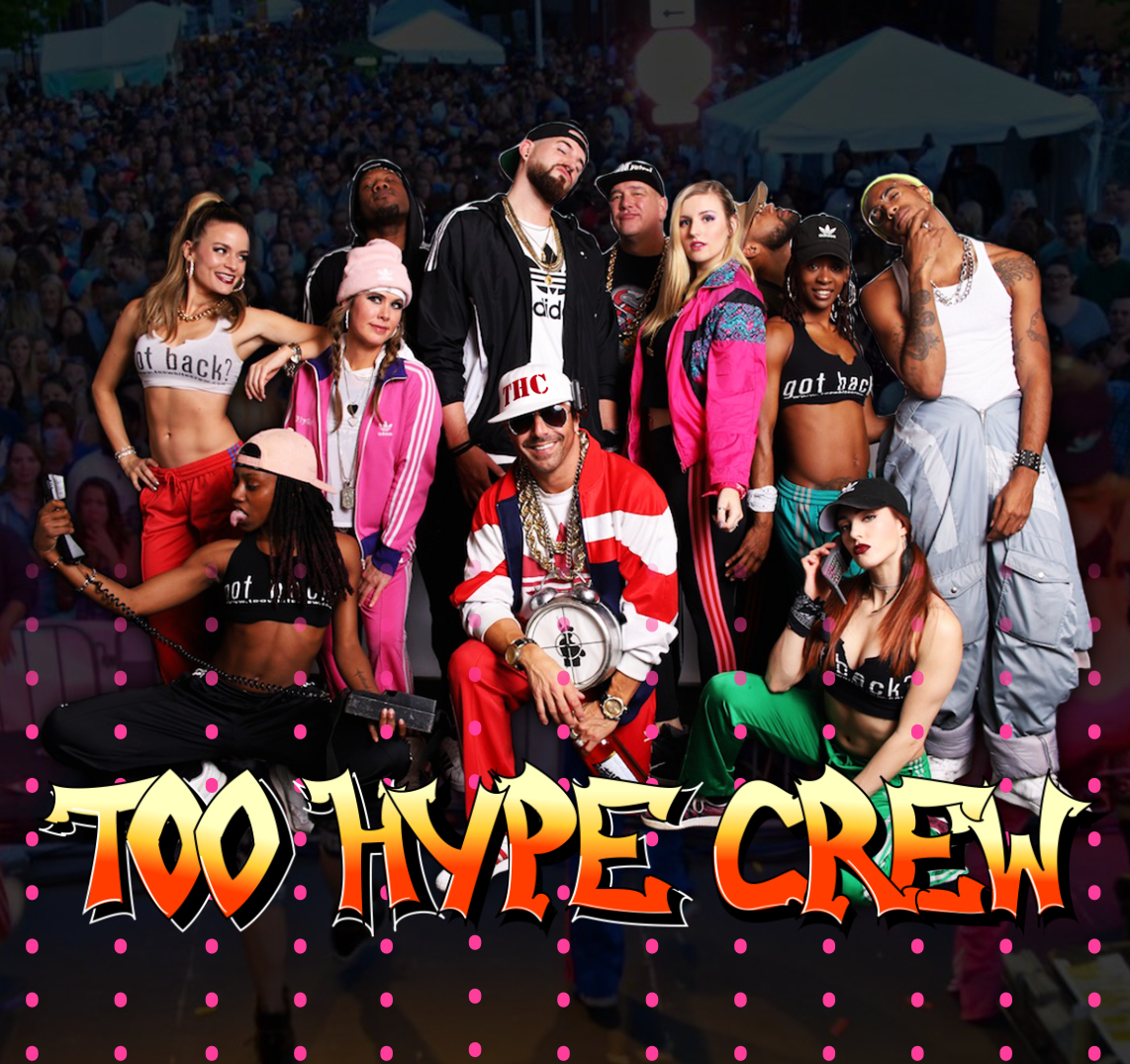 Too Hype Crew show poster