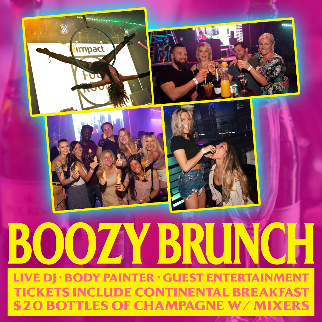 Boozy Brunch show poster