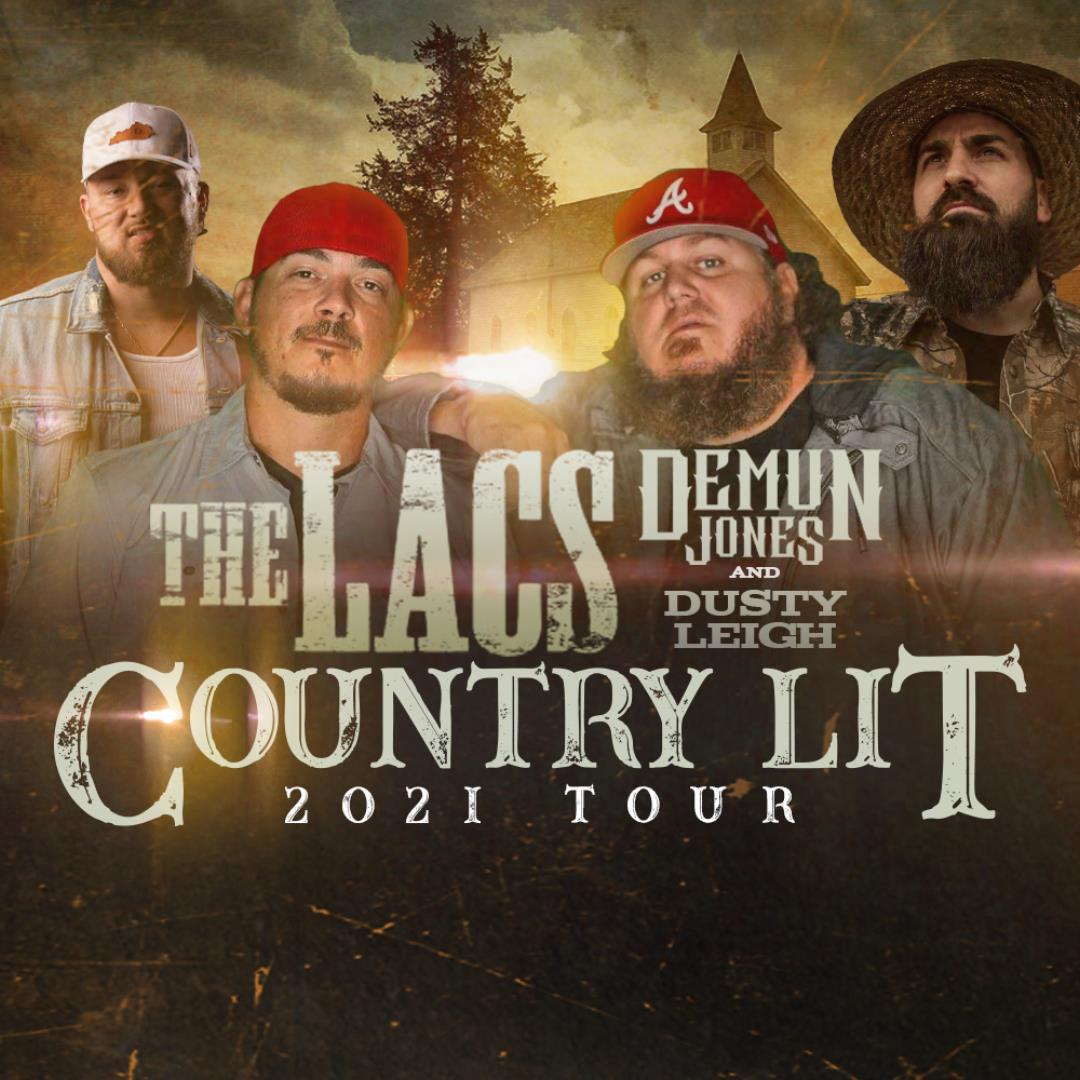 The LACS with Demun Jones and Dusty Leigh show poster